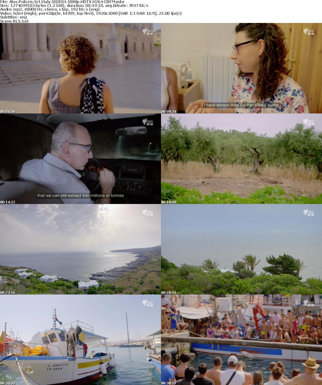 Alex Polizzis Secret Italy S02E04 1080p HDTV H264-CBFM