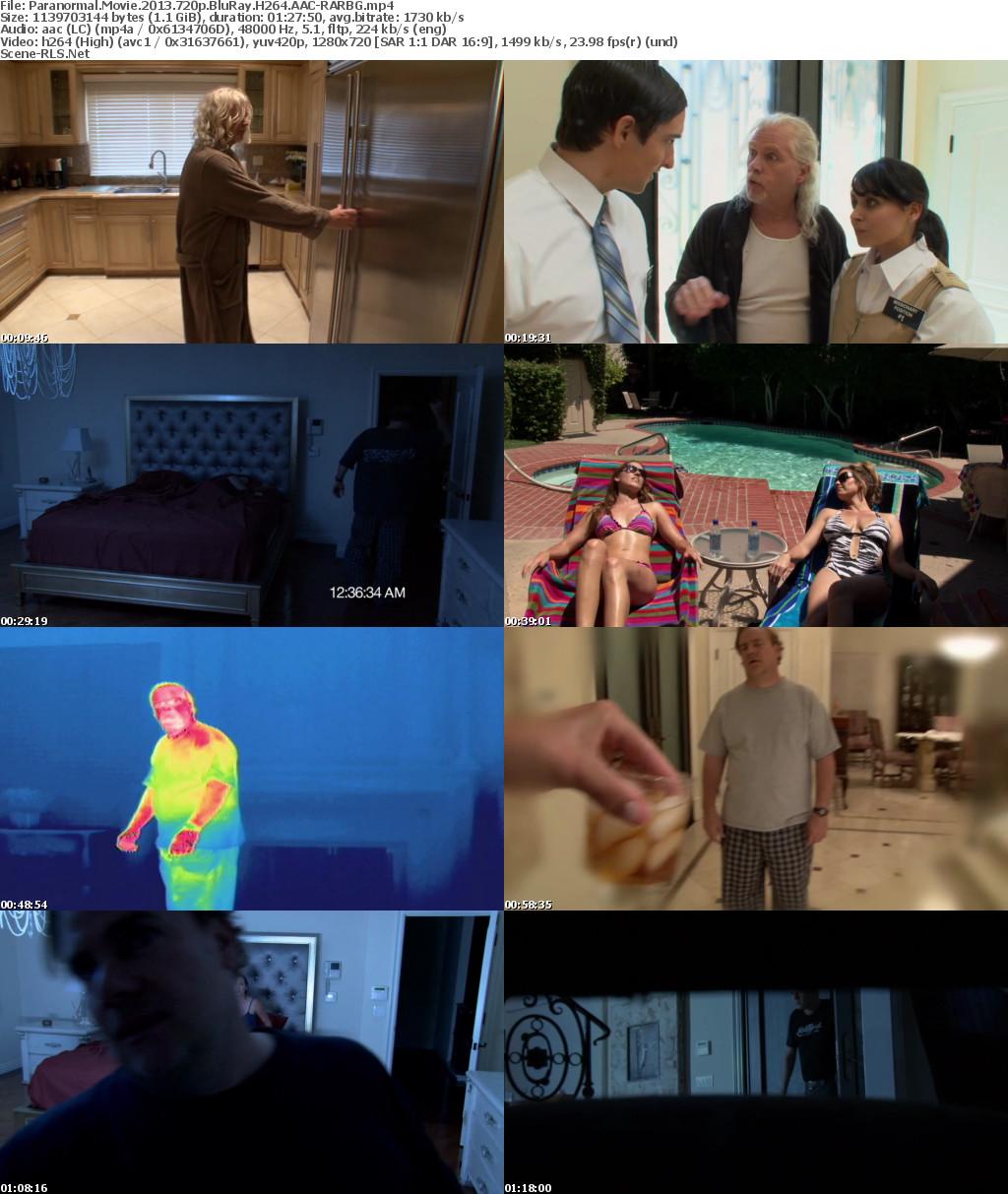 Paranormal Movie 2013 720p BluRay H264 AAC-RARBG - Scene Release