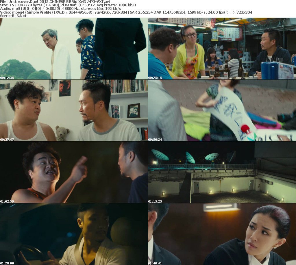Undercover Duet 2015 CHINESE BRRip XviD MP3-VXT - Scene Release