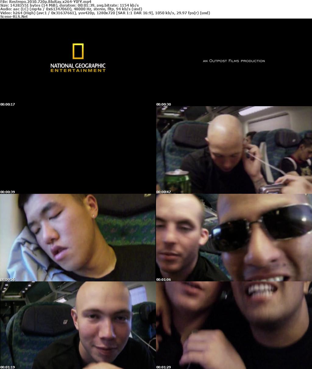 Restrepo 2010 720p BluRay x264-YIFY - Scene Release