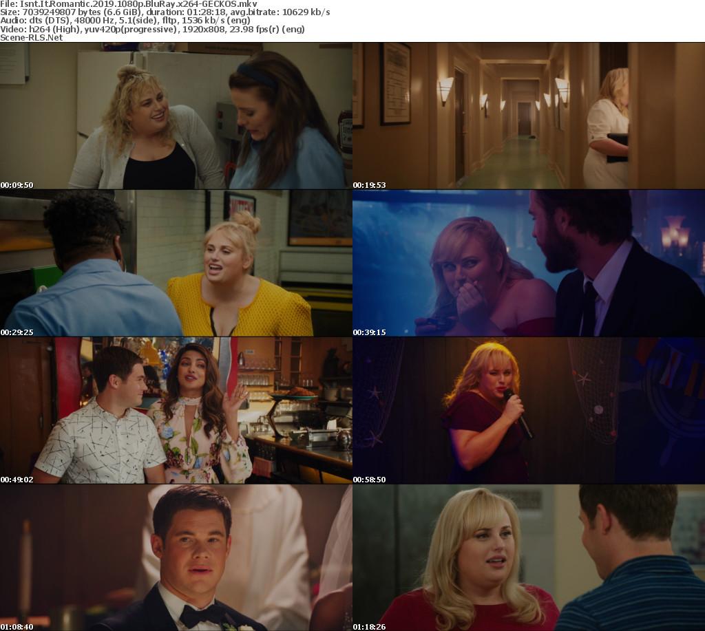 Isnt It Romantic 2019 1080p BluRay x264-GECKOS - Scene Release