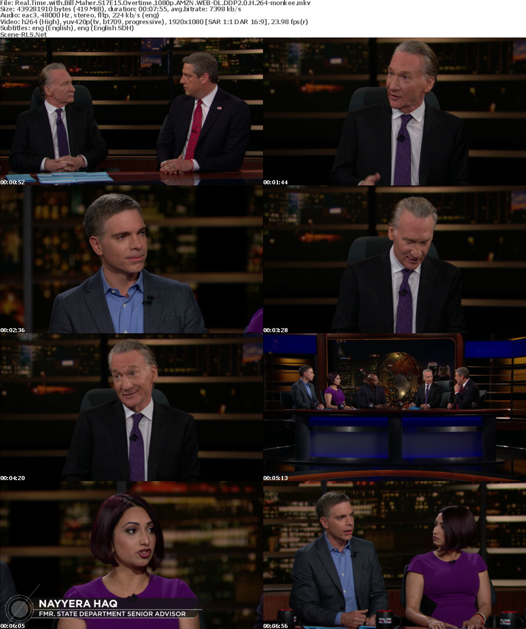 overtime real time with bill maher