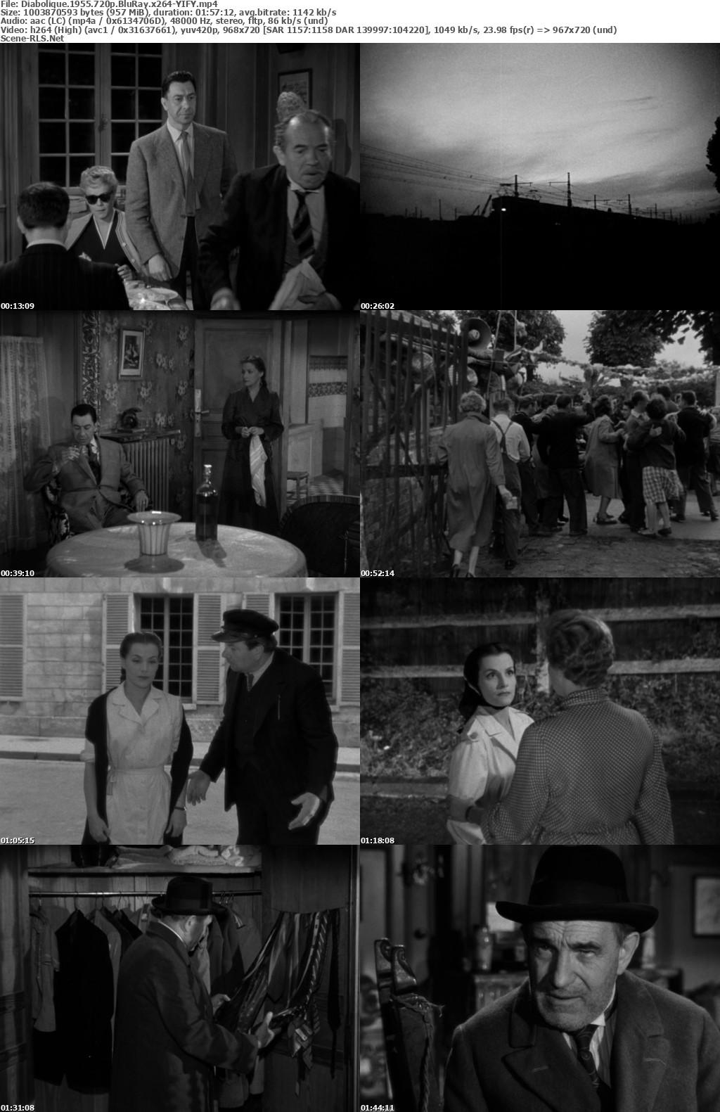 Diabolique 1955 720p BluRay x264-YIFY - Scene Release