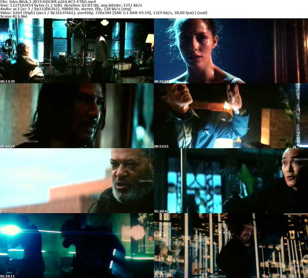 John Wick 3 Chapter 3 Parabellum 2019 Full English Movie