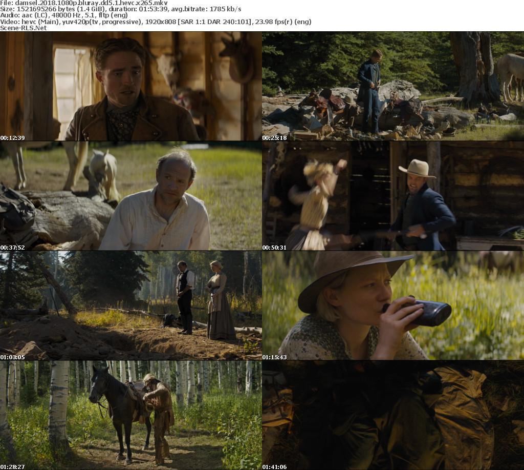 Damsel 2018 1080p BluRay DD5 1 HEVC x265 - Scene Release