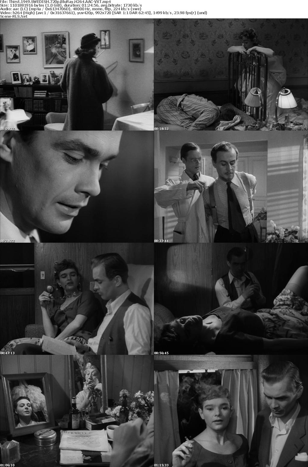 Thirst 1949 SWEDISH 720p BluRay H264 AAC-VXT - Scene Release