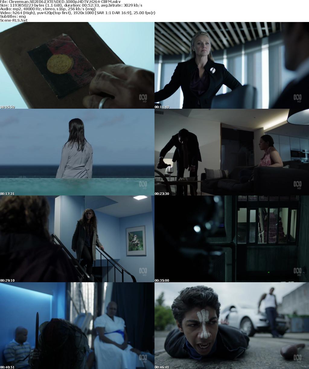 Cleverman S02E06 EXTENDED 720p HDTV x264-CBFM - Scene Release