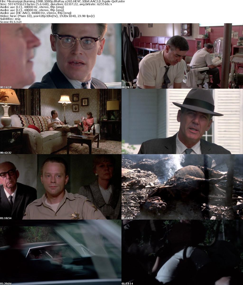 Mississippi Burning 1988 1080p BluRay x265 HEVC 10bit AAC2 0 Tigole