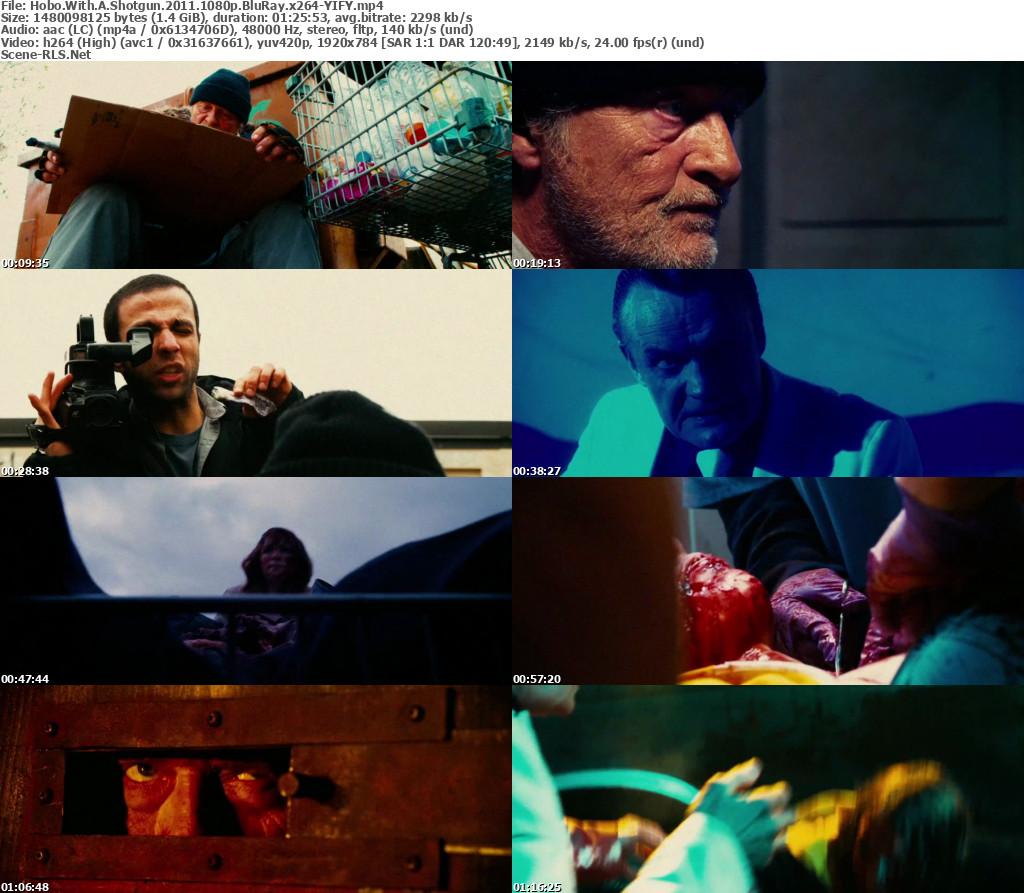 Hobo With A Shotgun 2011 1080p BluRay x264-YIFY - Scene Release