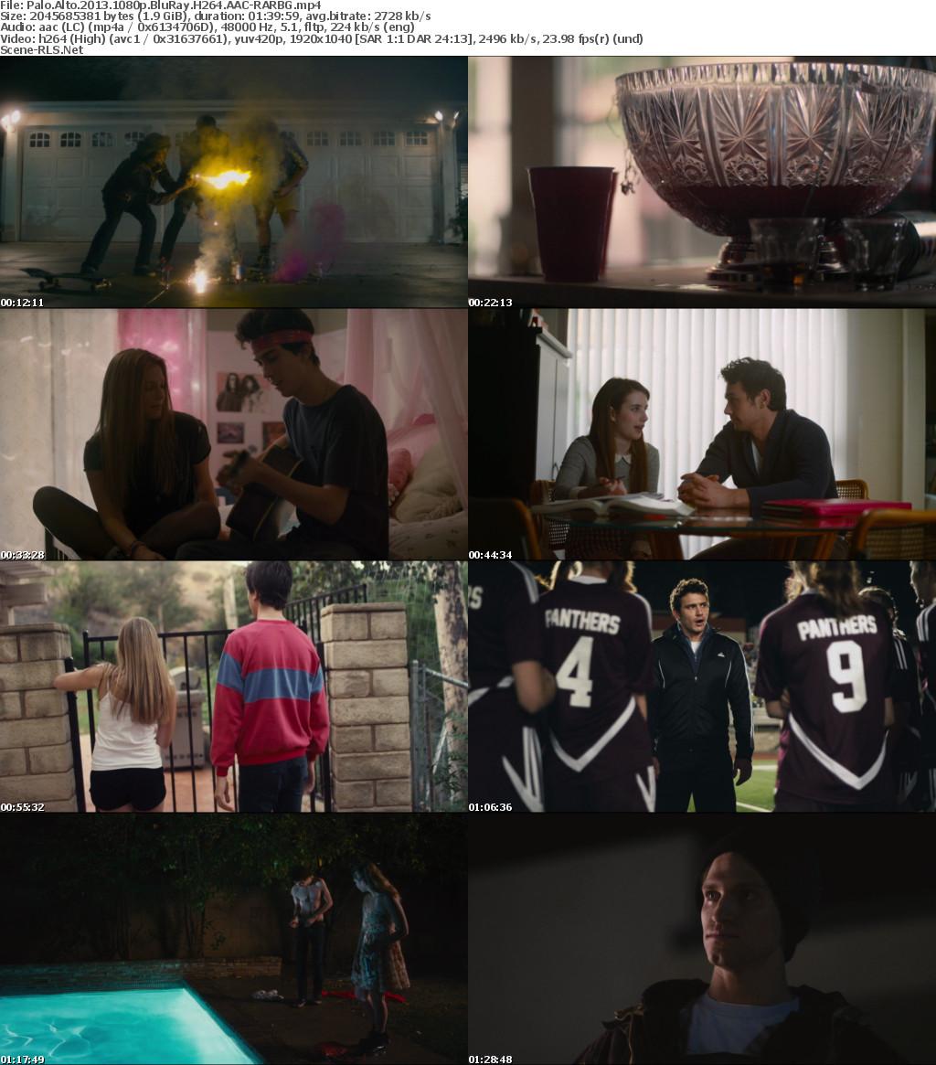 Palo Alto 2013 1080p BluRay H264 AAC-RARBG - Scene Release