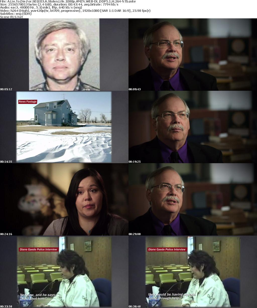 A Lie To Die For S01E03 A Stolen Life 1080p AMZN WEB-DL DD5 1 H264