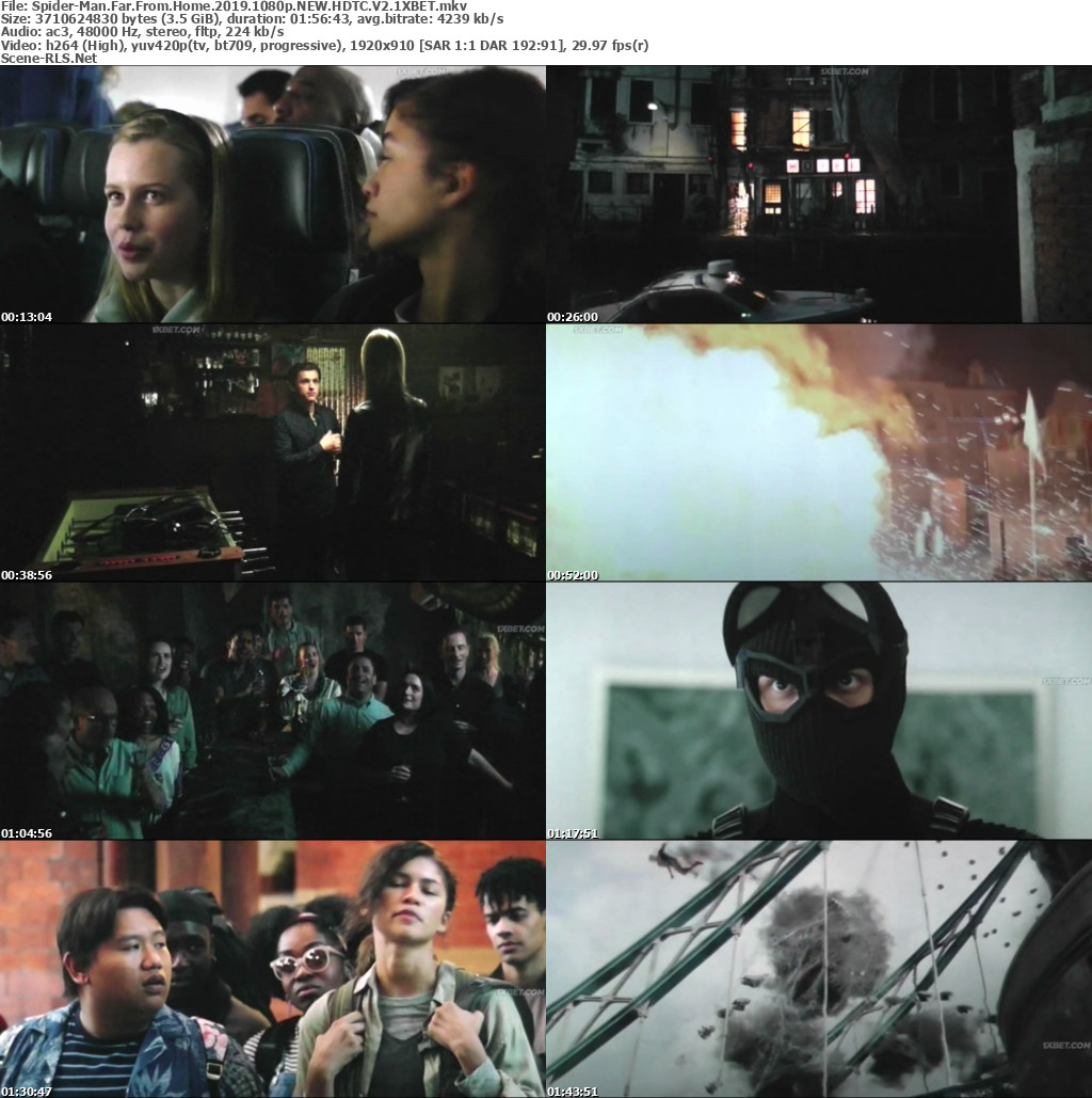 Spider-Man Far From Home 2019 1080p NEW HD-TC V2-1XBET