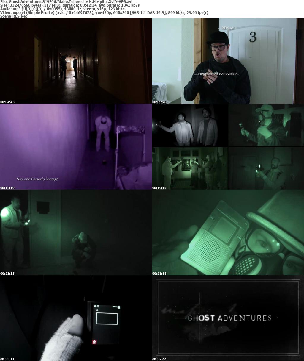 Ghost Adventures S19E06 Idaho Tuberculosis Hospital 720p WEB
