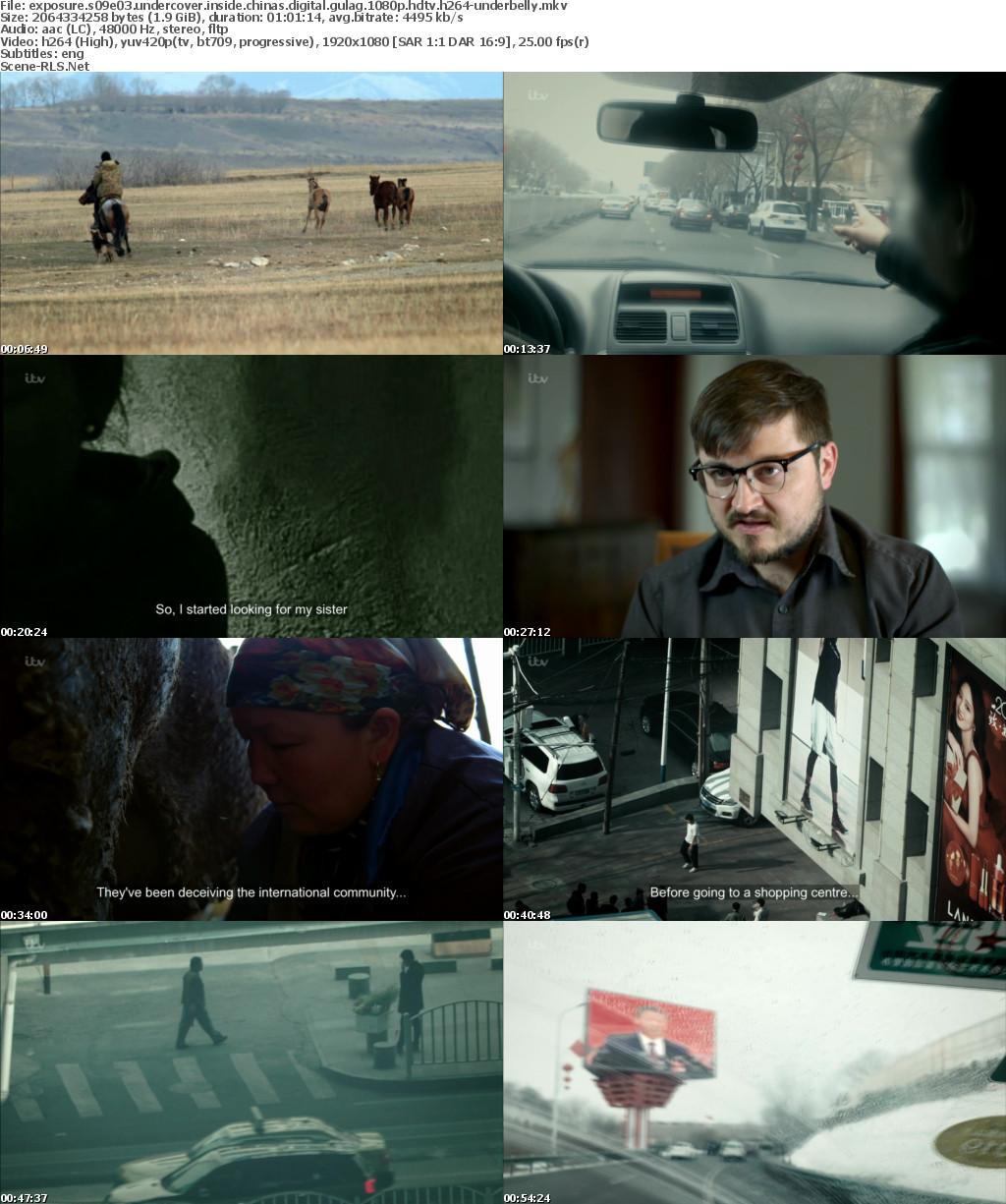 Exposure S09E03 Undercover Inside Chinas Digital Gulag 1080p