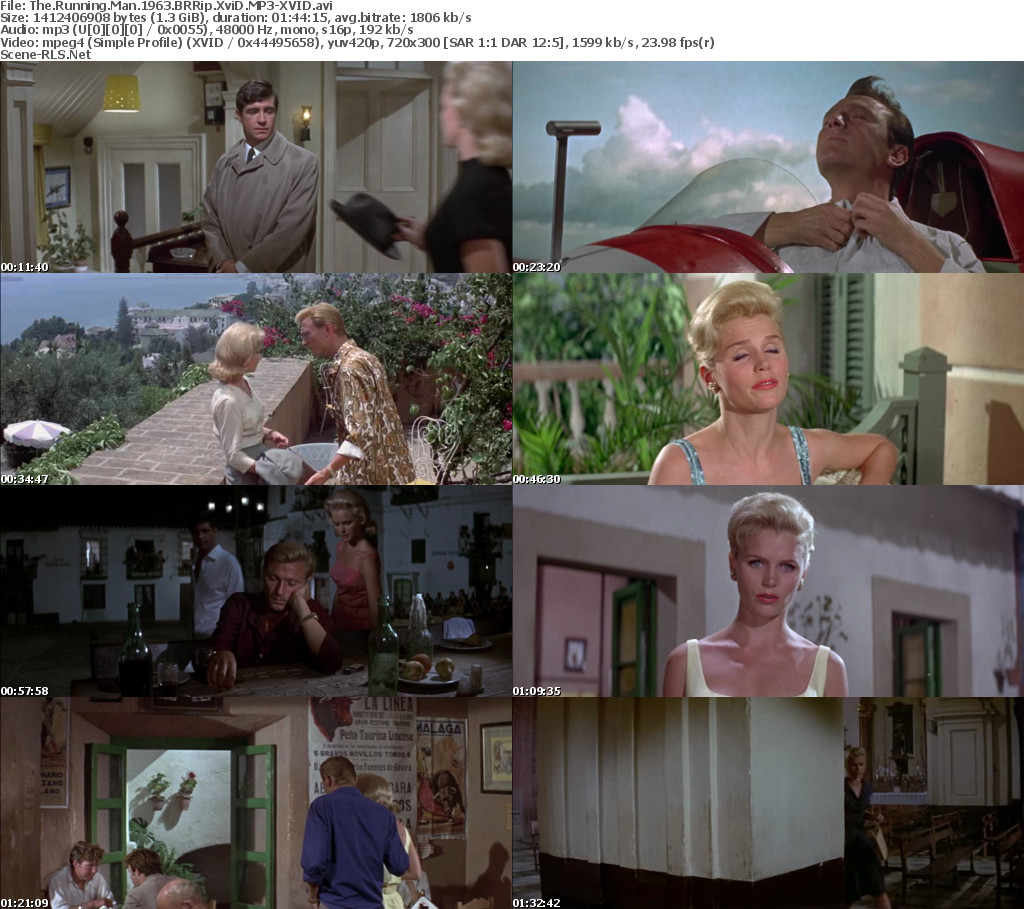 The Running Man 1963 BRRip XviD MP3-XVID - Scene Release