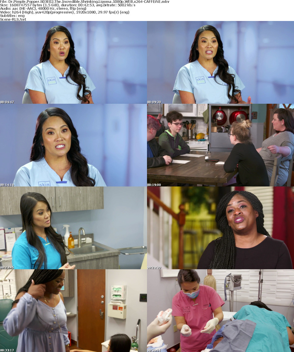 Dr Pimple Popper S03E02 The Incredible Shrinking Lipoma 1080p WEB