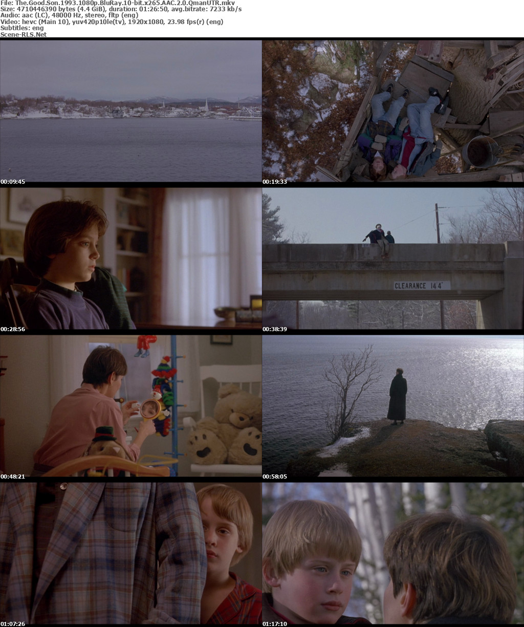 The Good Son 1993 1080p BluRay x265 HEVC 10bit AAC 2 0 Qman-UTR