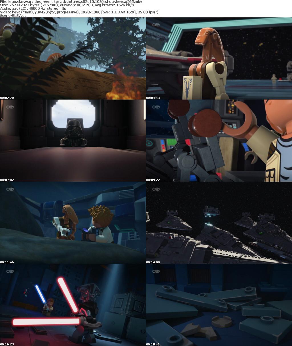 Lego Star Wars The Freemaker Adventures S02E10 1080p HDTV