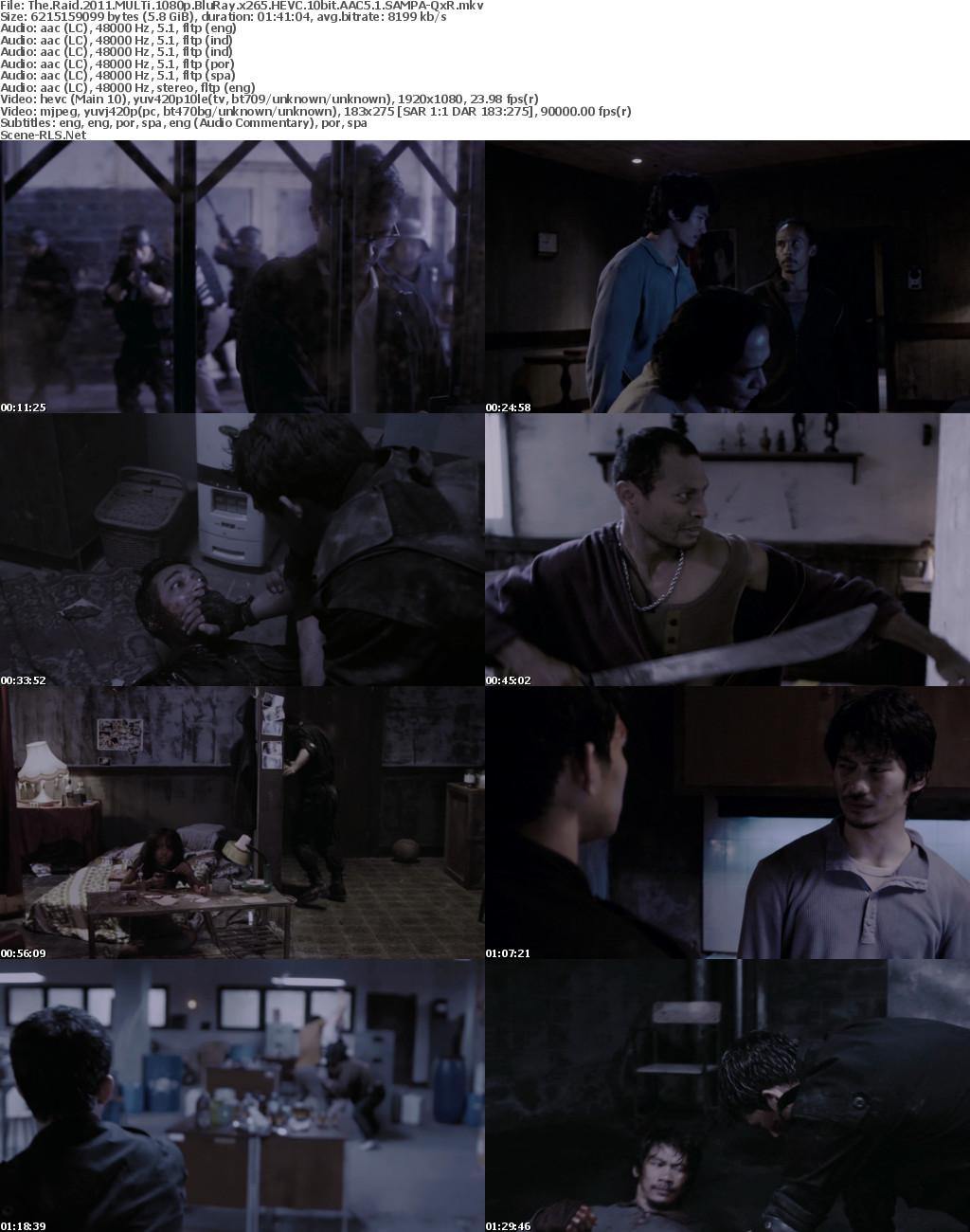The Raid-Redemption 2011 MULTi 1080p BluRay x265 HEVC 10bit AAC5 1