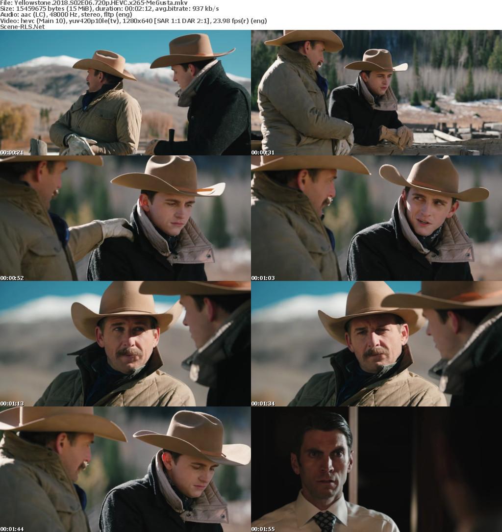 Yellowstone 2018 S02E06 720p WEBRip x264-TBS - Scene Release