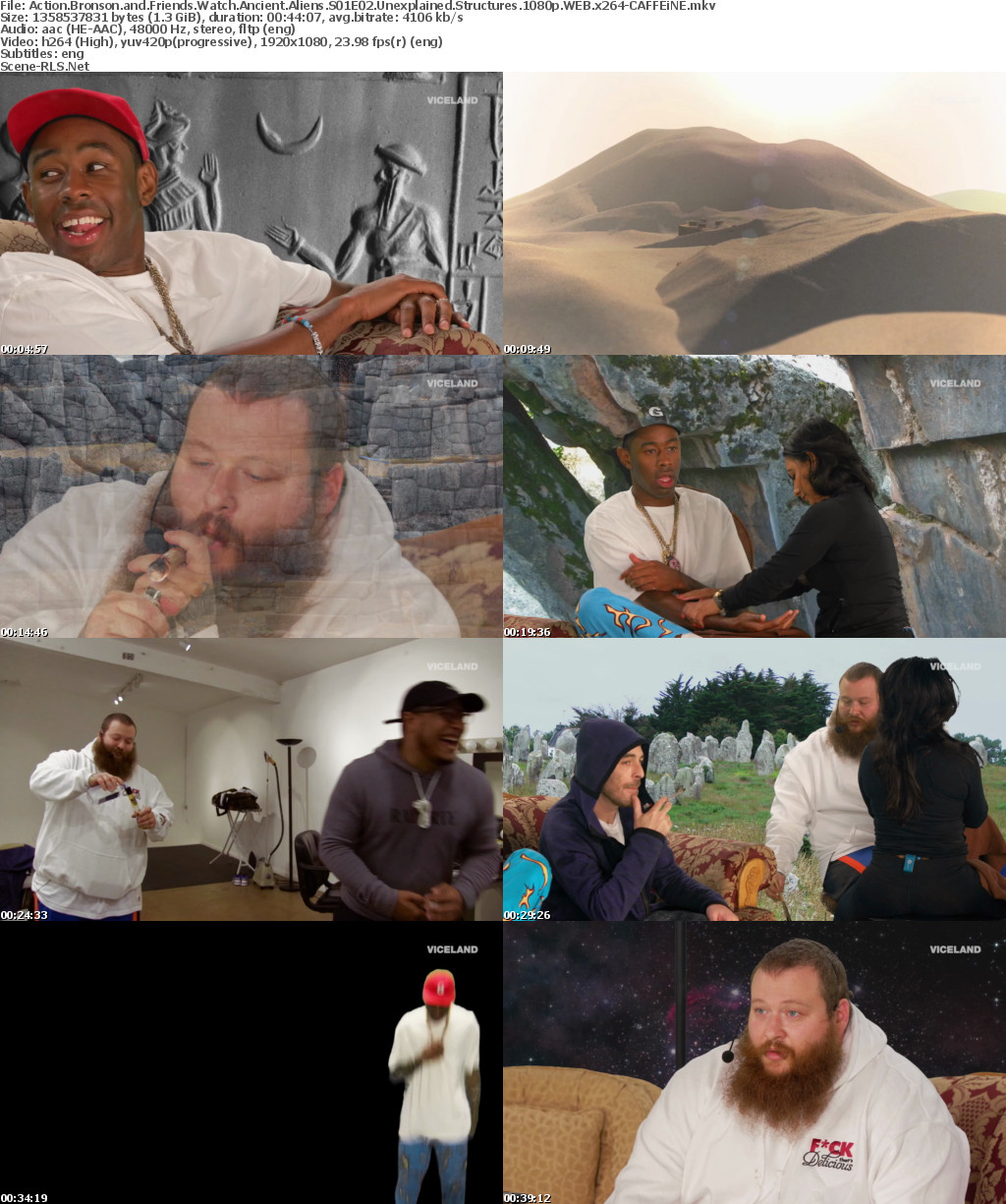 Action Bronson and Friends Watch Ancient Aliens S01E02