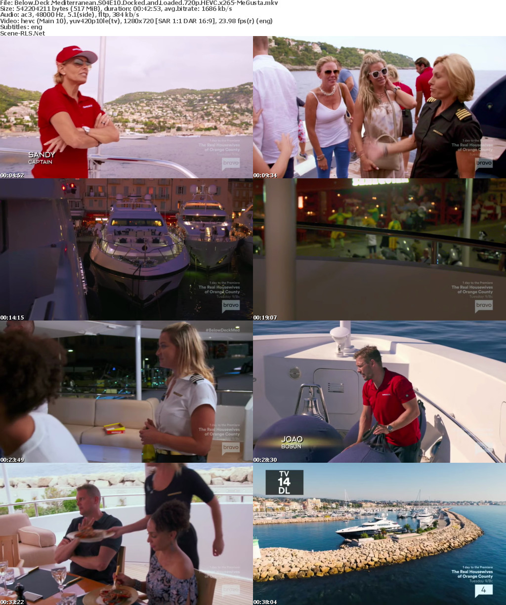 Below Deck Mediterranean S04E10 Docked and Loaded HDTV x264