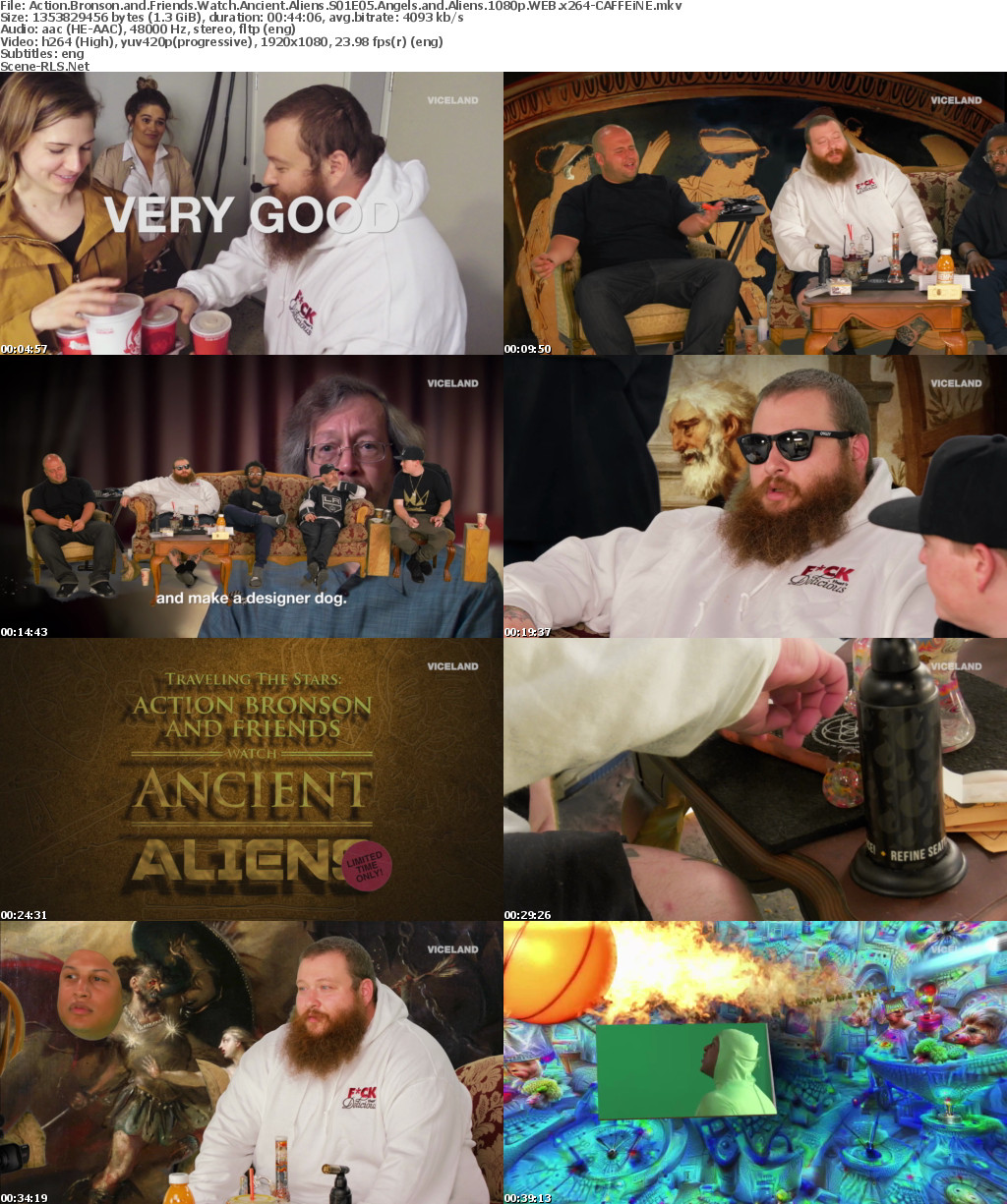 Action Bronson and Friends Watch Ancient Aliens S01E05