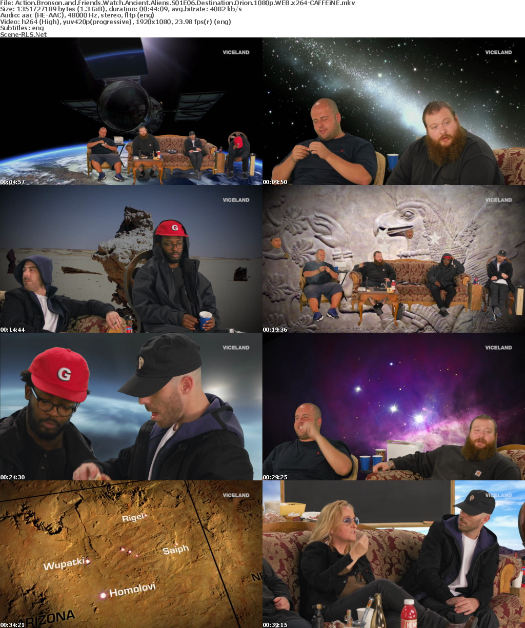 Action Bronson and Friends Watch Ancient Aliens S01E06