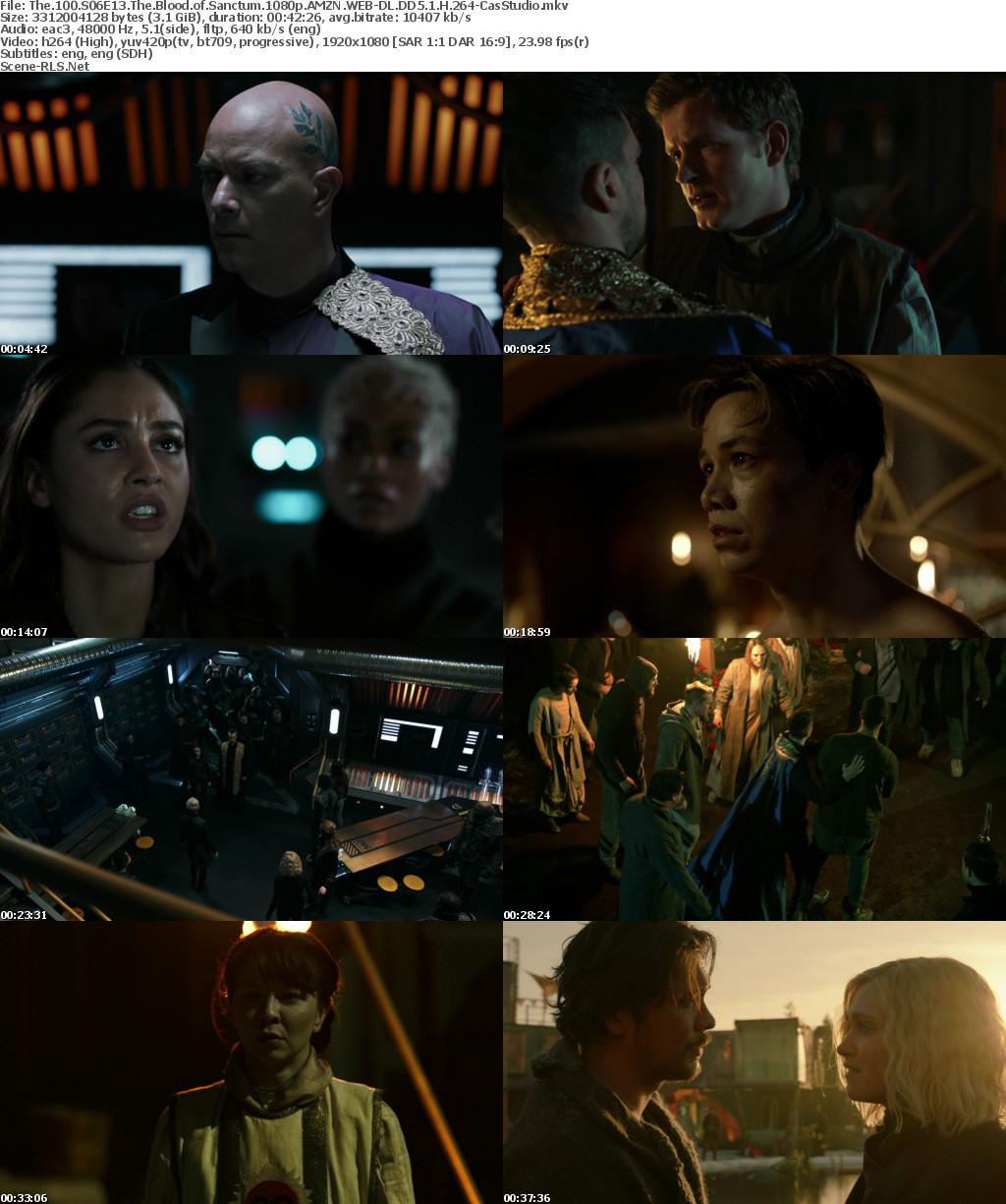 The 100 S06E13 HDTV x264-SVA - Scene Release