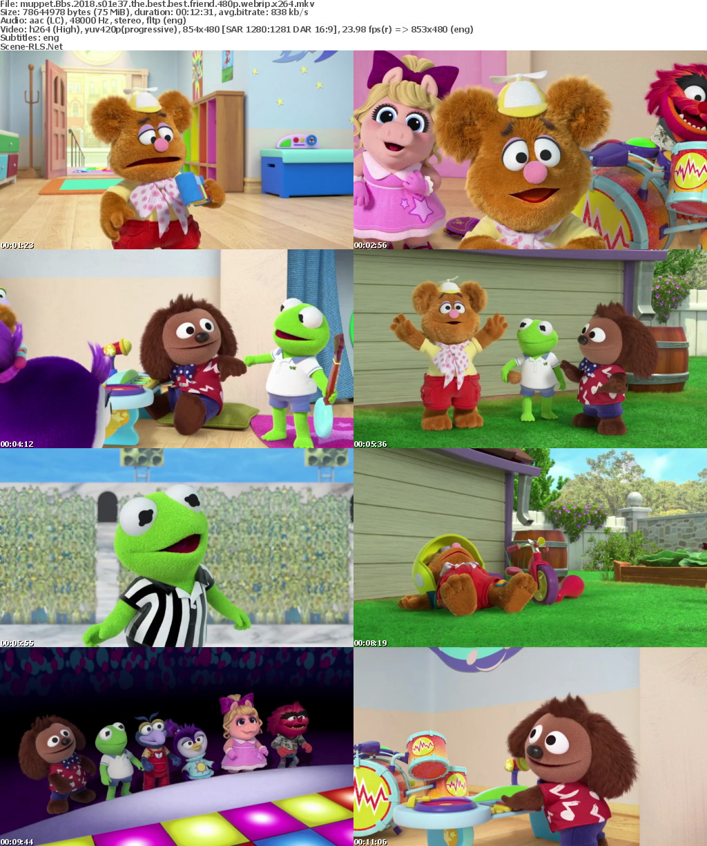 Muppet Babies 2018 S01E37 The Best Best Friend 720p DSNY