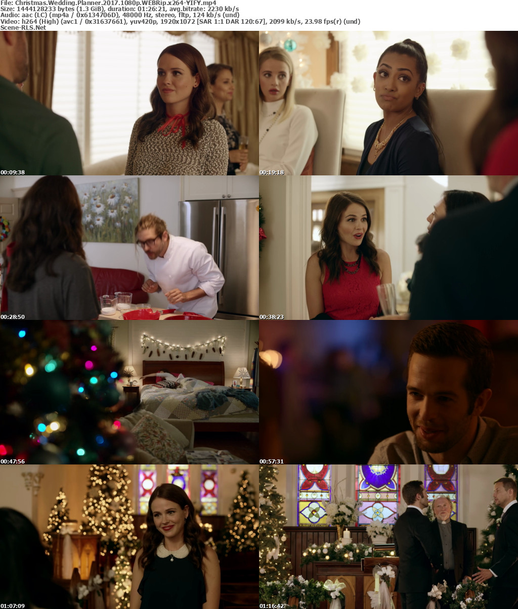 Christmas Wedding Planner.Christmas Wedding Planner 2017 1080p Webrip X264 Yify