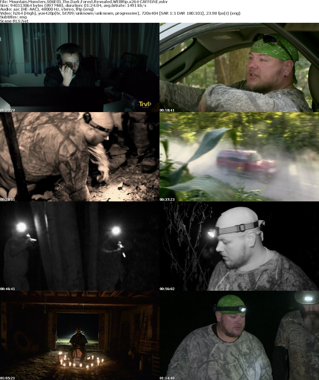 Mountain Monsters S06E01 The Dark Forest Revealed WEBRip