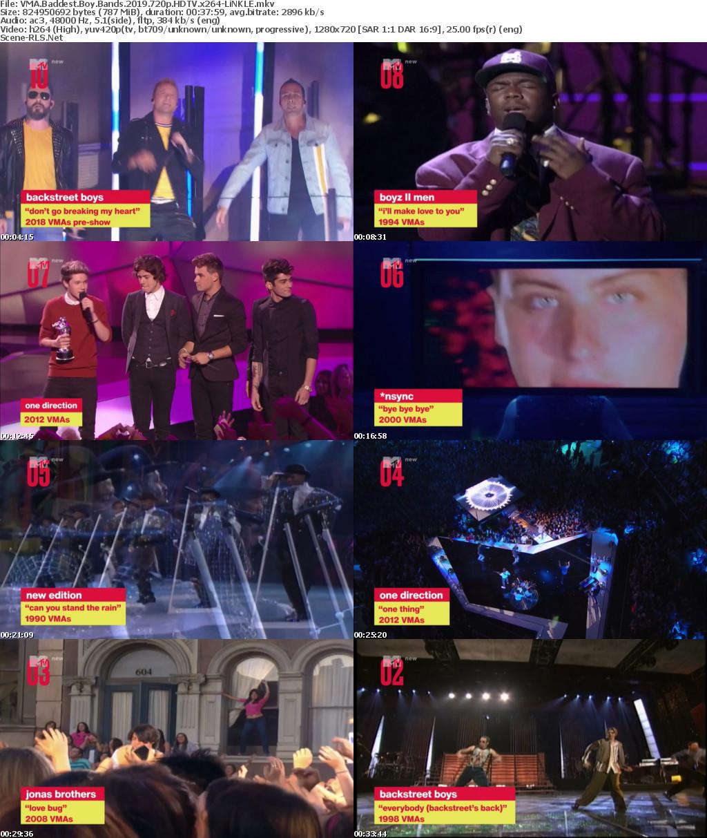 VMA Baddest Boy Bands 2019 1080p HDTV H264-LiNKLE - Scene