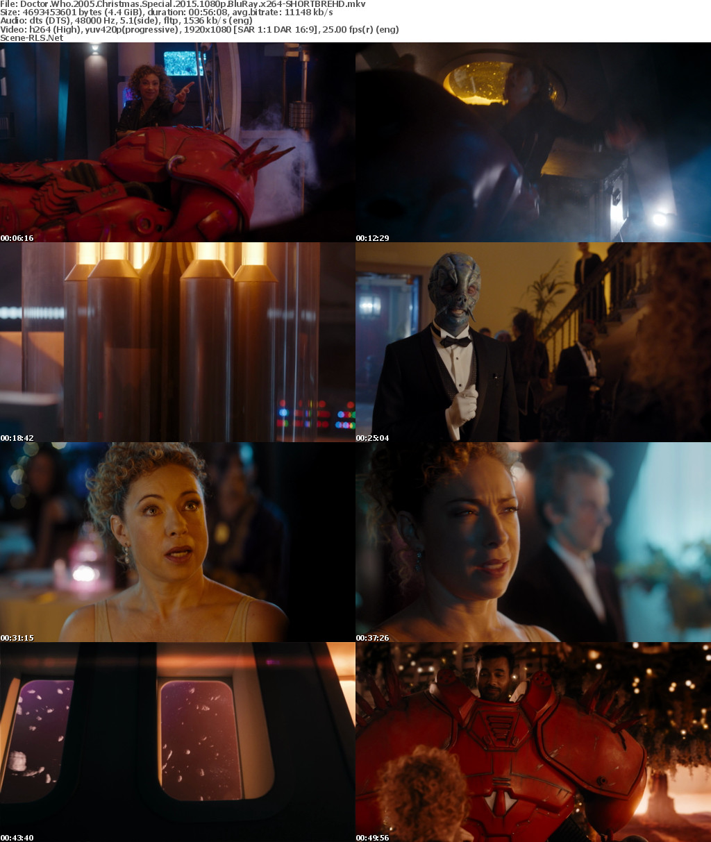 Doctor Who Christmas Special 2015.Doctor Who 2005 Christmas Special 2015 1080p Bluray X264