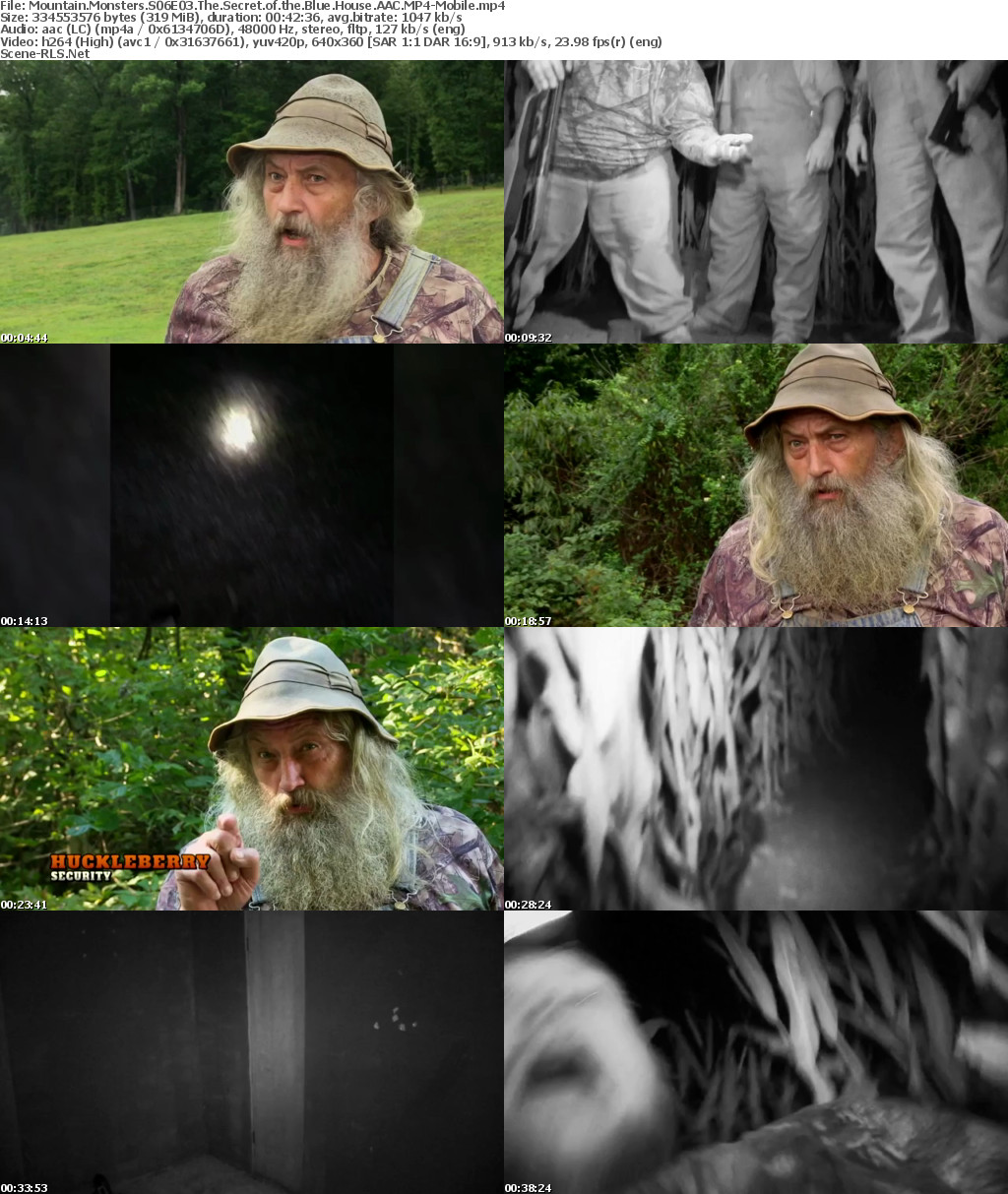 Mountain Monsters S06E03 The Secret of the Blue House WEBRip