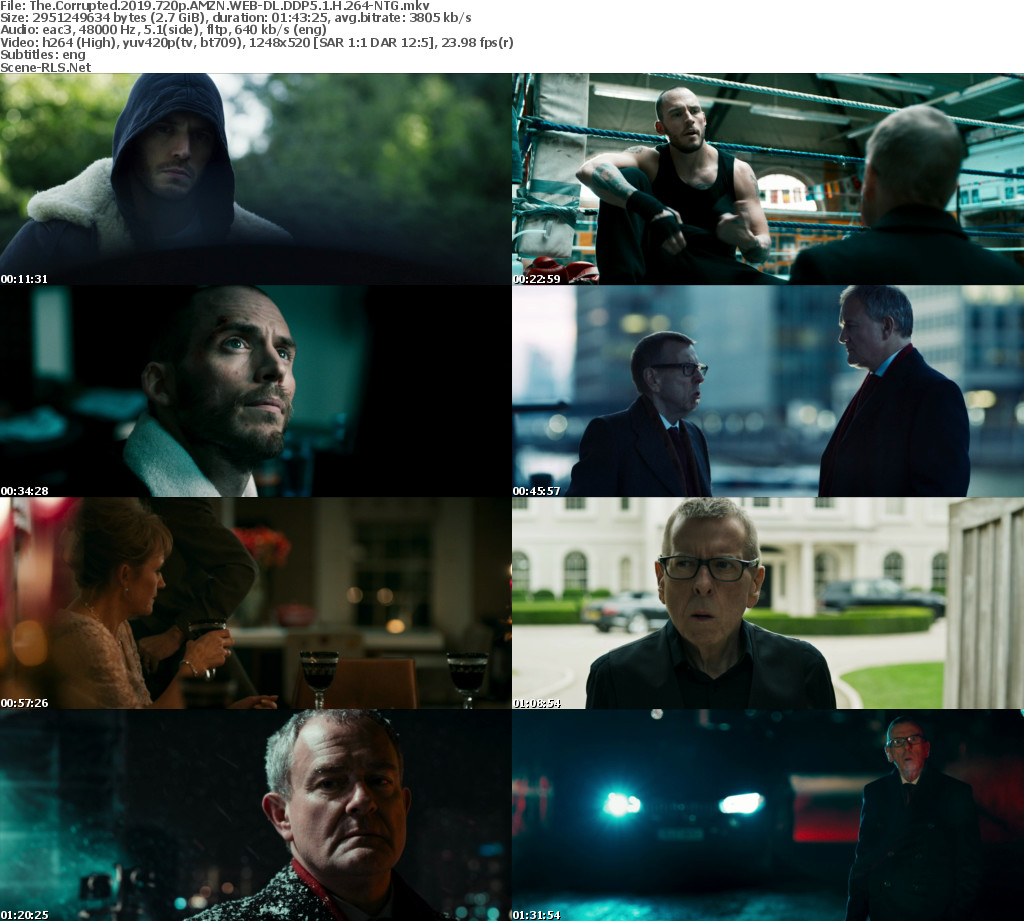 The Corrupted 2019 720p AMZN WEB-DL DDP5 1 H264-NTG - Scene