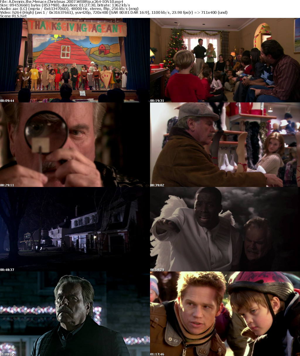 A Dennis The Menace Christmas.A Dennis The Menace Christmas 2007 Webrip X264 Ion10 Scene