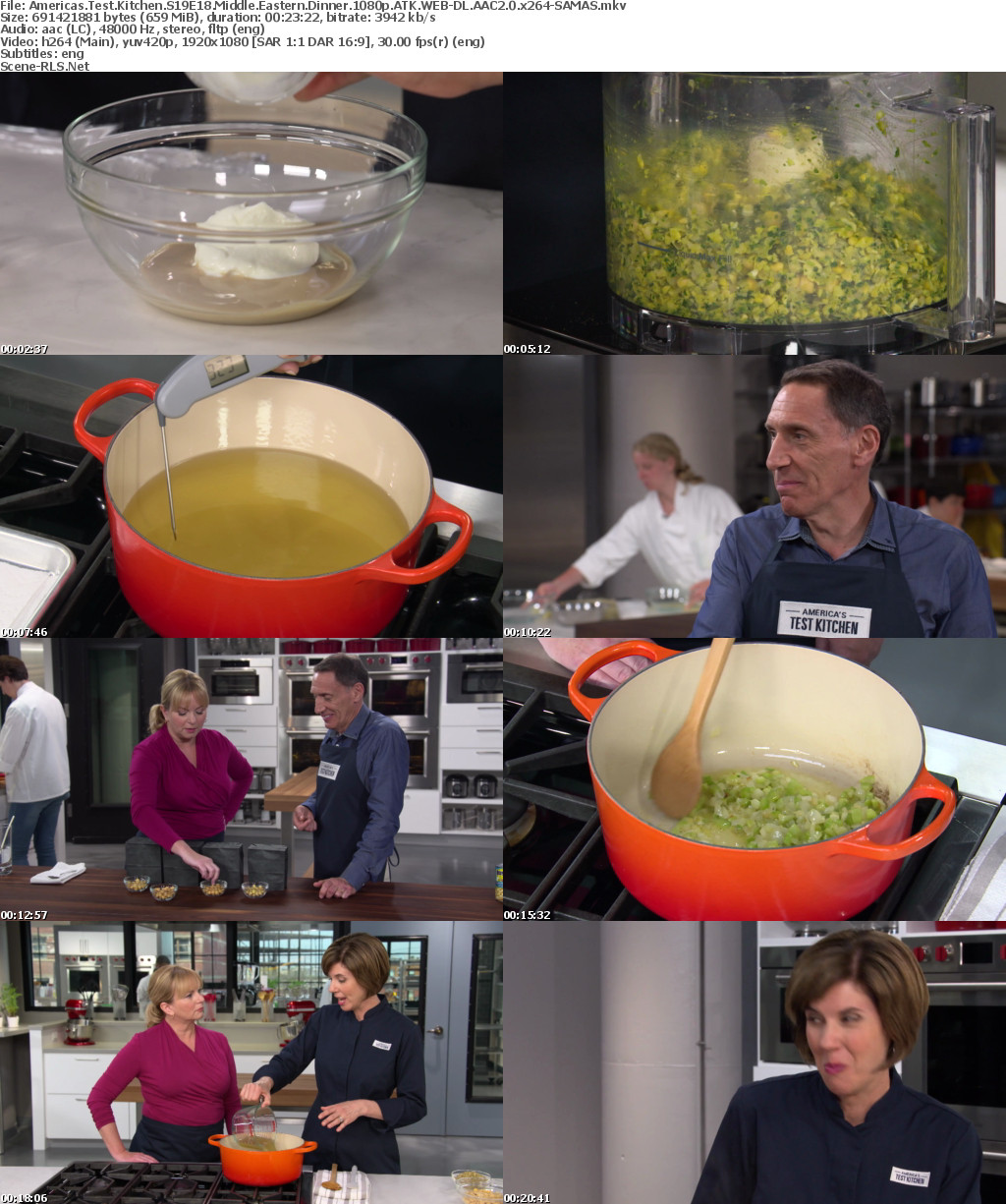Americas Test Kitchen S19e18 Middle Eastern Dinner 1080p Atk